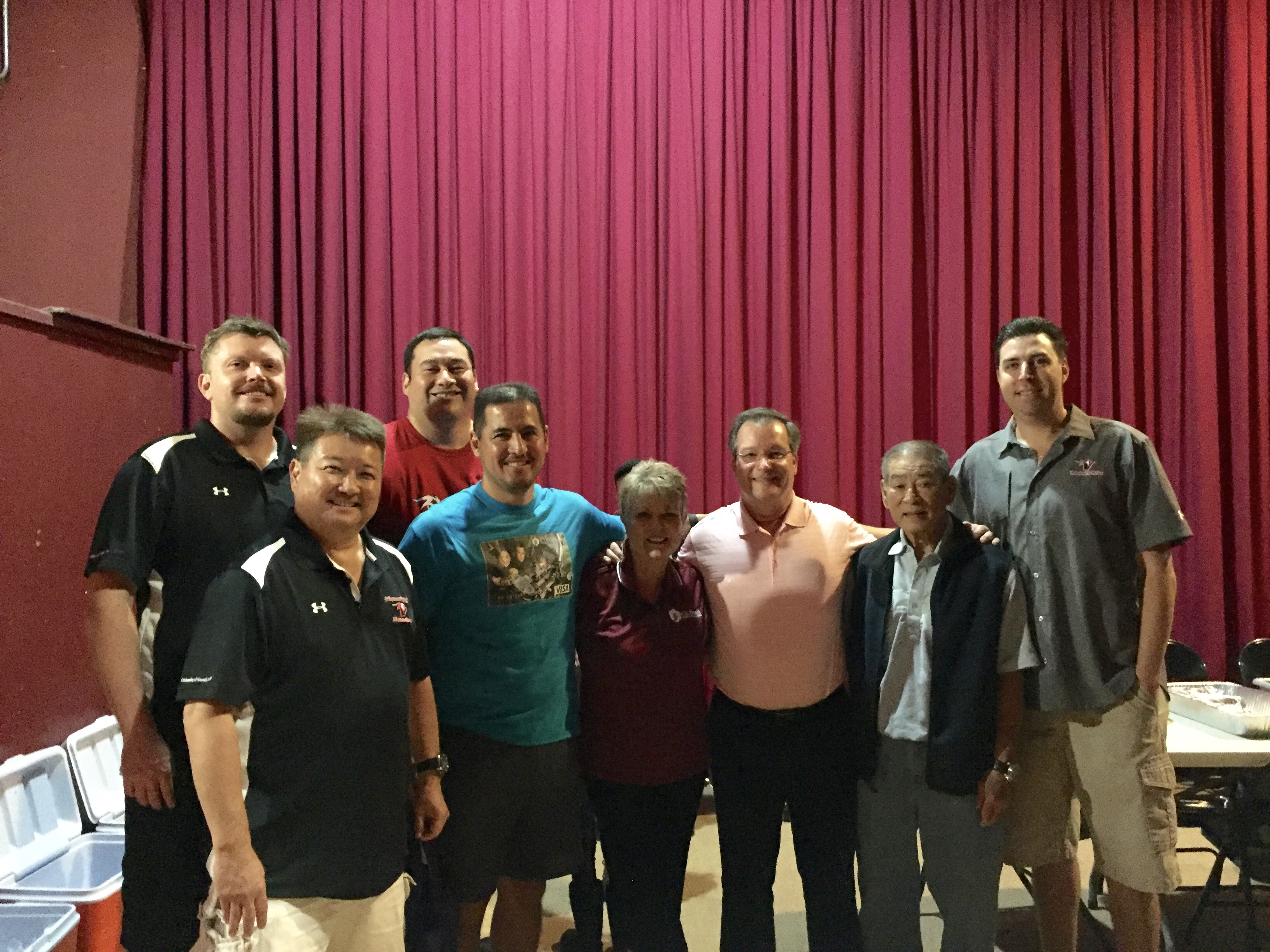 The Booster Club and Cheryl Marzo of CU Hawaii